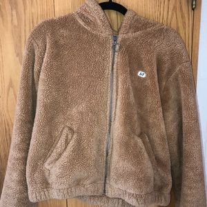 Abercrombie & Fitch Teddy Zip Hoodie